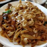 stir fried rice noodle with beef
