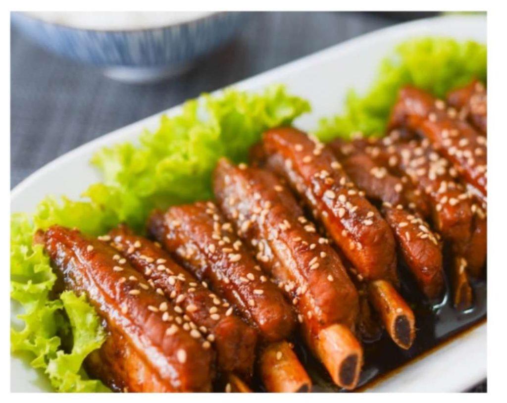 Orange Pork Ribs recipe