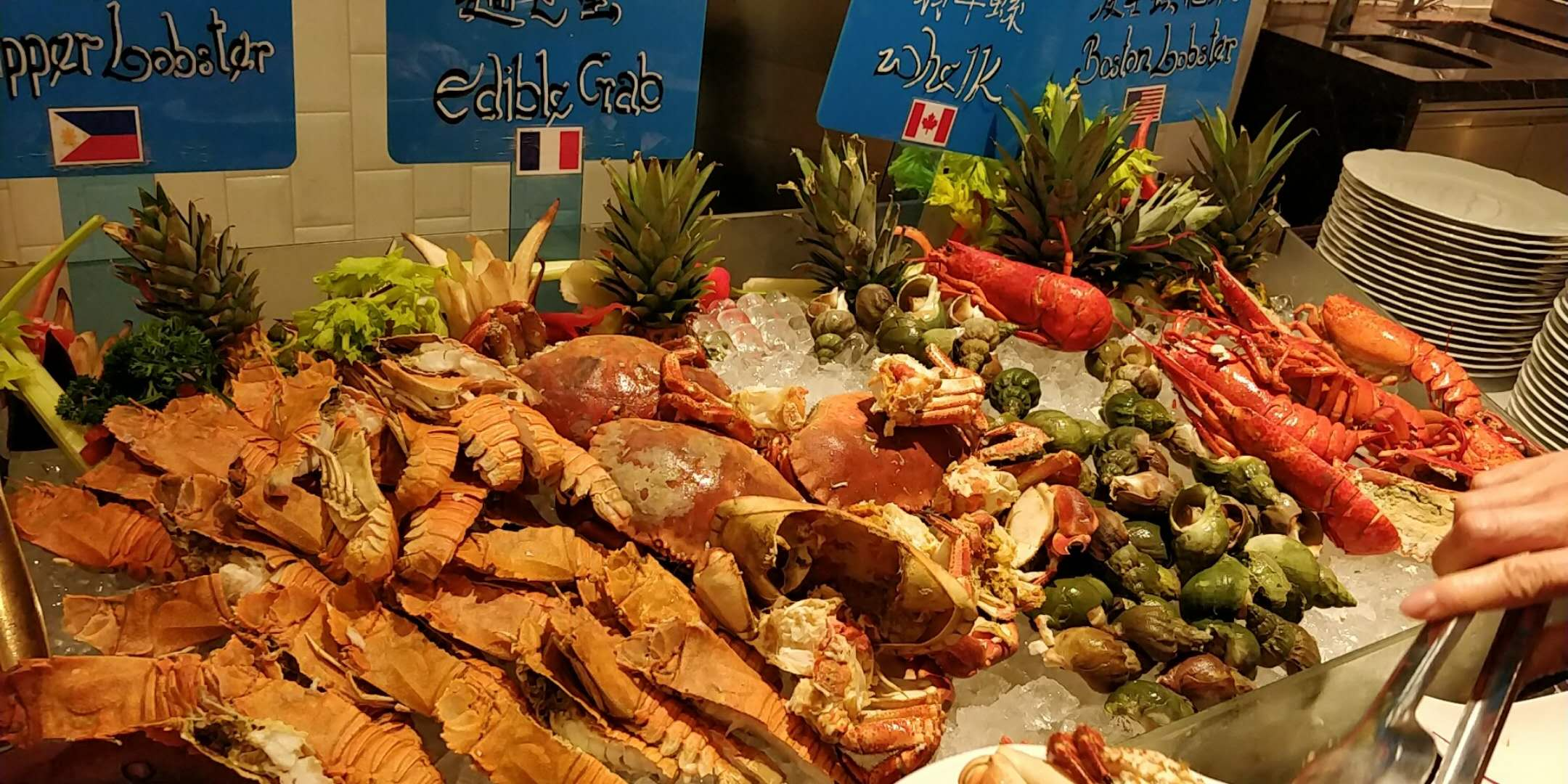 (Macau) High quality, reasonable price seafood buffet in Macau- Brasserie de Paris