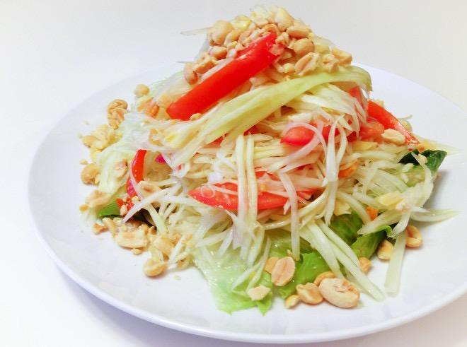 Thai papaya salad recipe