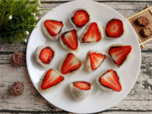 strawberry mochi recipe
