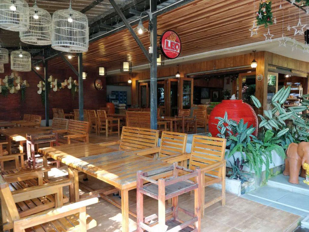 Erawan Waterfall restaurant