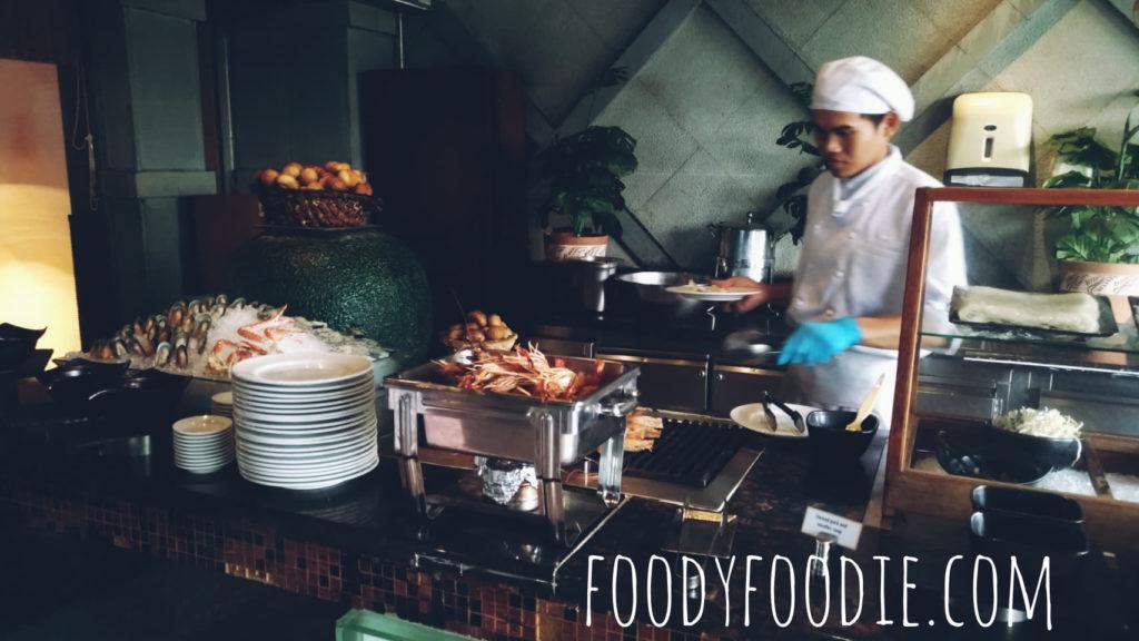 buffet majestic grande sukhumvit hotel bangkok