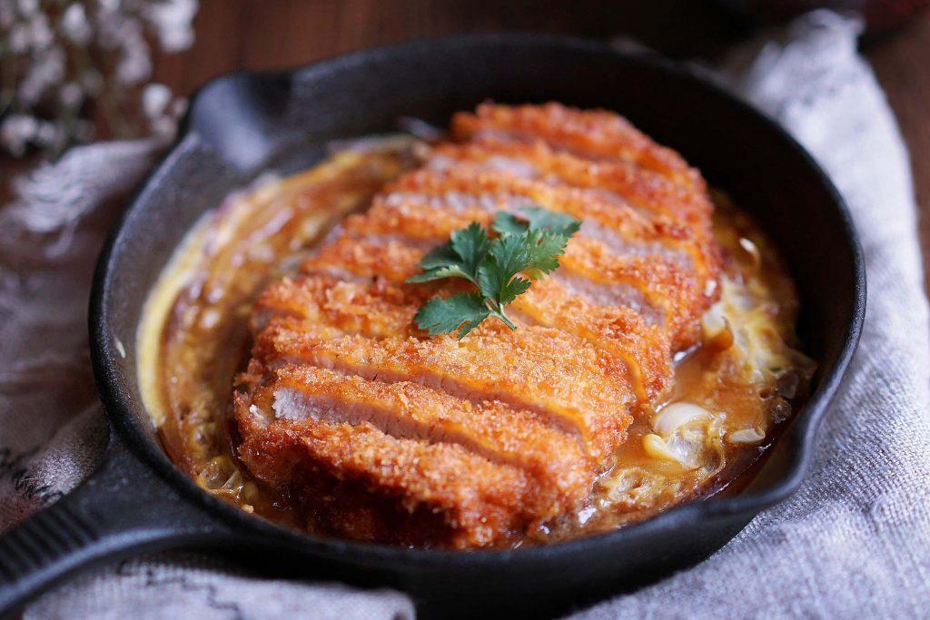 Katsudon Pork Cutlet Rice Bowl recipe