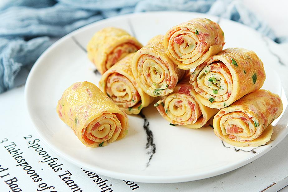 tomato egg roll recipe