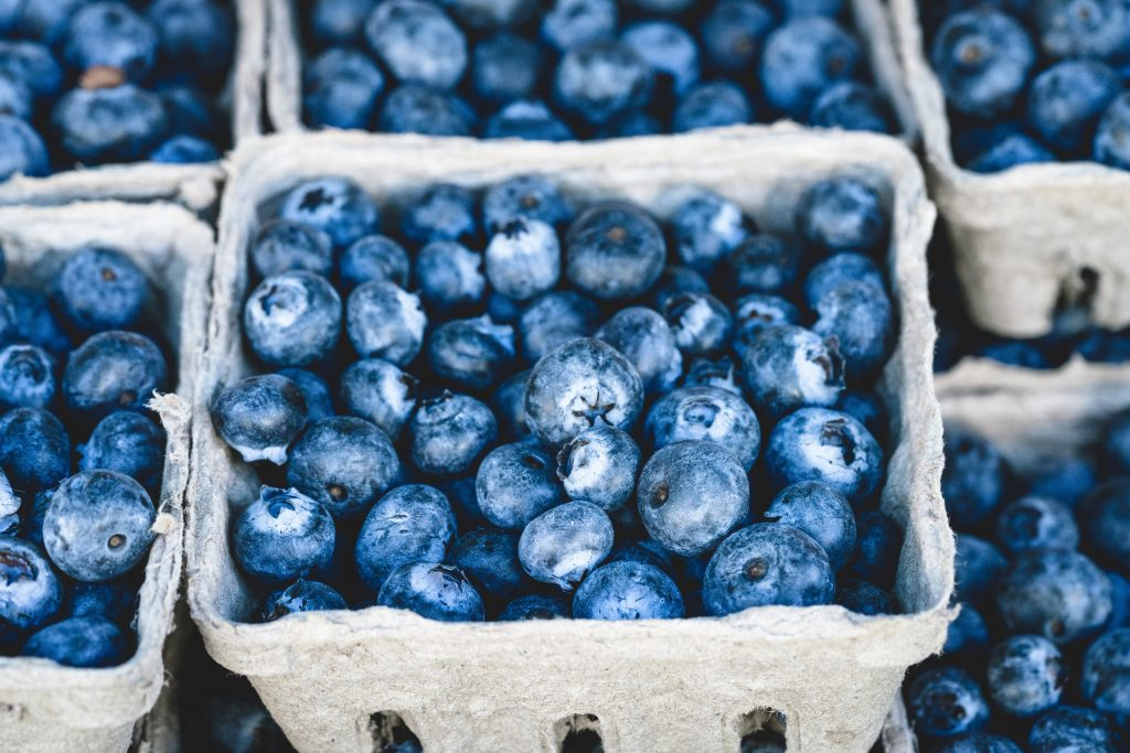 Healthy Snacks Blueberry