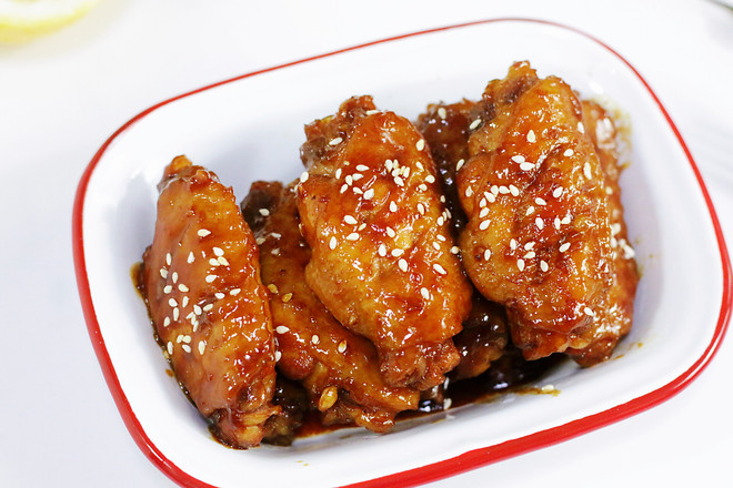 honey sauce chicken wing recipe