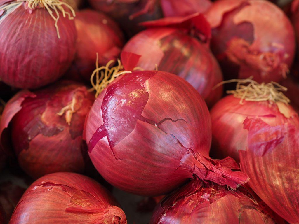 onion blood vessel health