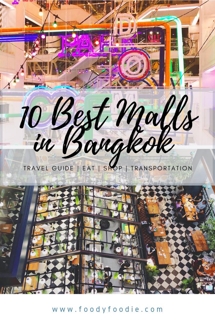 10 Best Malls Bangkok