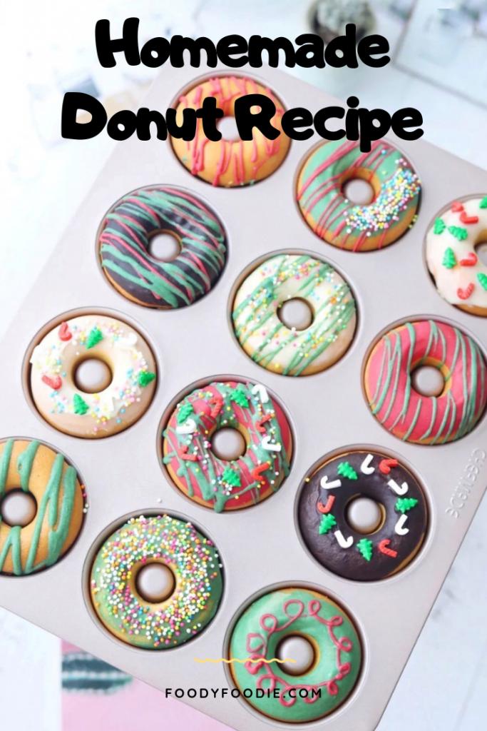 homemade donut